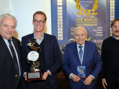 "Olympic Channel: ""Sport Television Channel of the year"" rewarded in ""Sport Movies & Tv 2018"" in Milano"