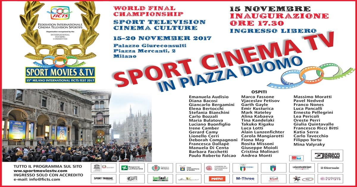 Cerimonia inaugurazione sport movies & tv 2017