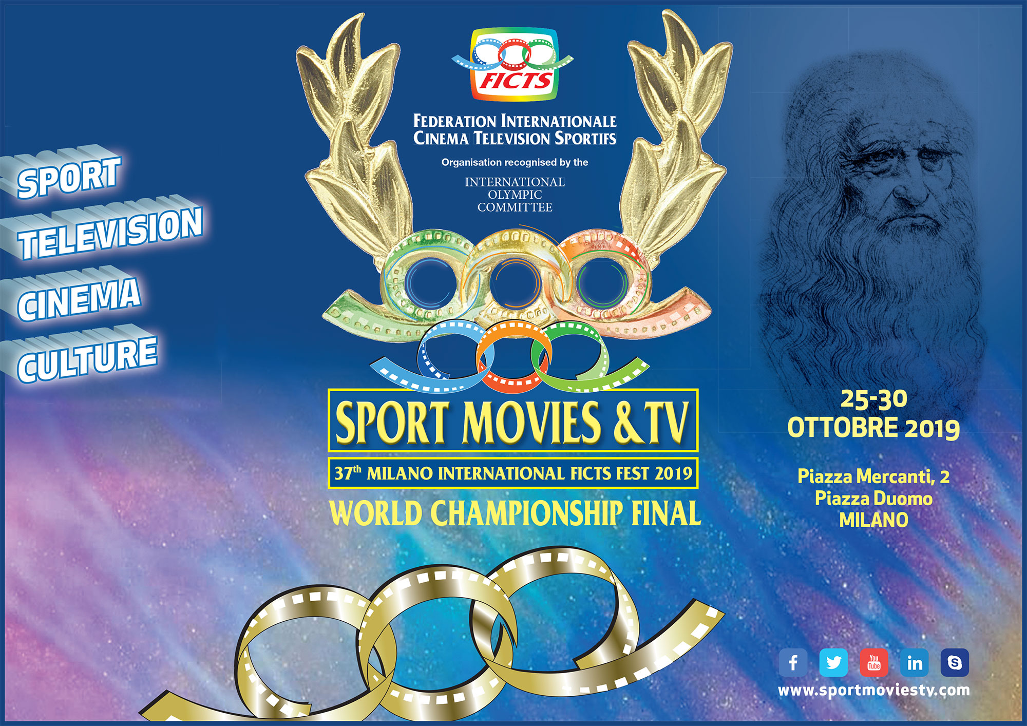 """SPORT MOVIES & TV 2019"": OCTOBER 25 – 30"