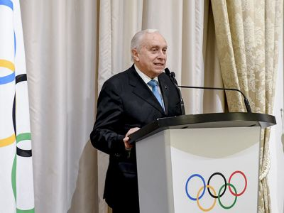 Prestigious assignment at International Olympic Committee to Prof. Franco Ascani