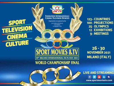 SPORT MOVIES & TV 2021 in Milan from November 26 – 30. Call for entries