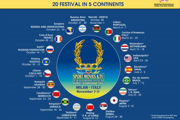 WORLD FICTS CHALLENGE: 20 FESTIVAL IN 5 CONTINENTS