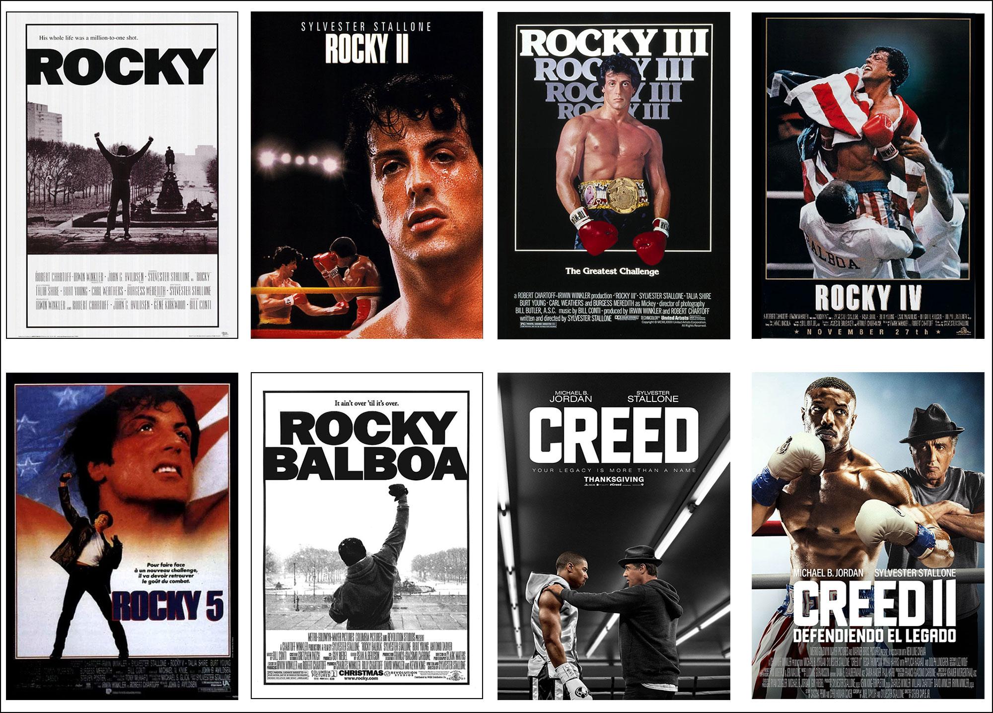 """Quali tra gli 8 film della saga """"Rocky"""" preferisci? - Ficts"""
