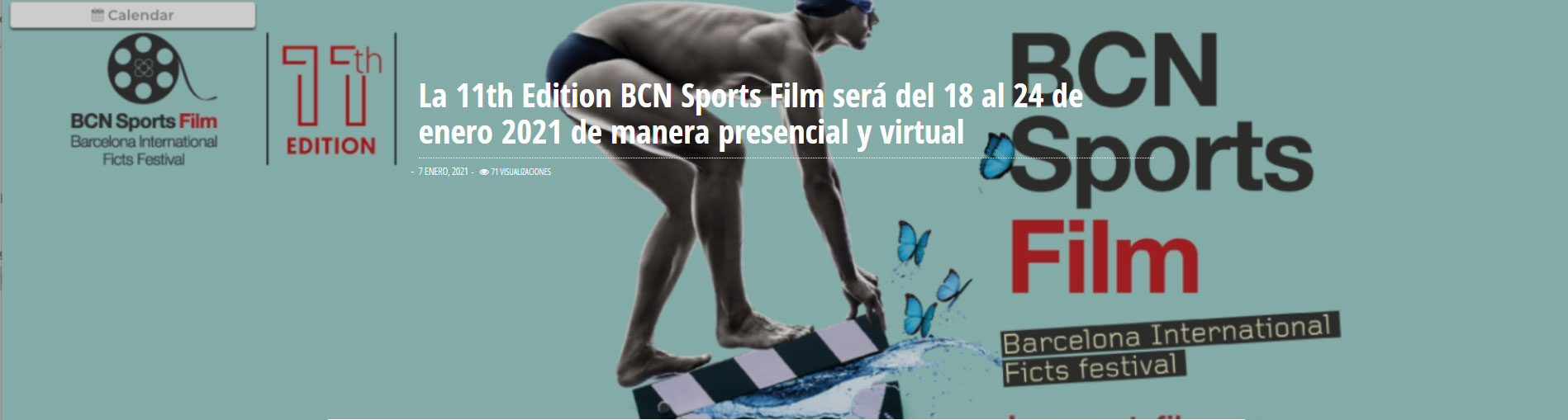 BCN SPORTS FILM - BARCELONA INTERNATIONAL FICTS FESTIVAL